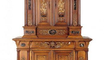 Armoire à deux corps, d'après des gravures de Philippe Galle, Ile-de-France, fin du XVIe siècle