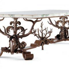 Table, Gilbert Poillerat (1902-1988), Paris, 1943