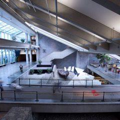 Hall du Musée de la civilisation