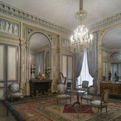 Le salon de l'hôtel de Serres, vers 1795