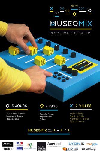 Affiche Museomix 2014