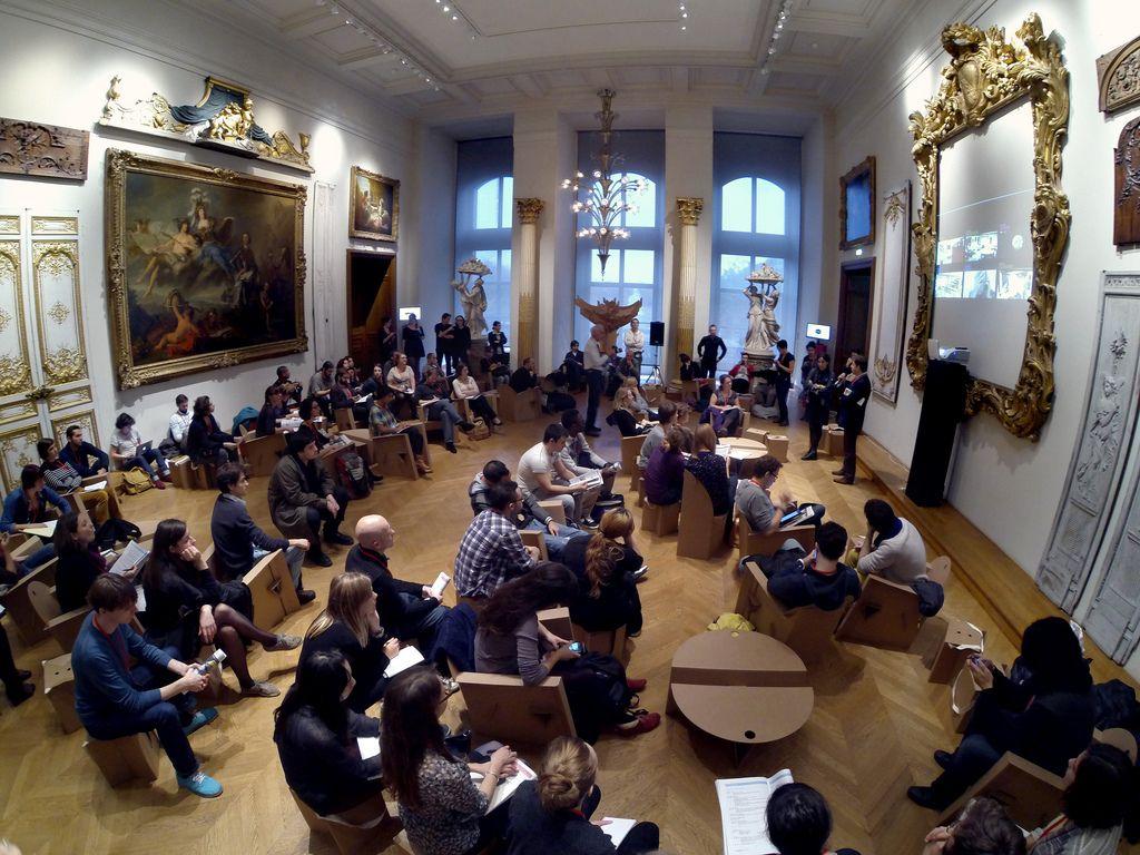 Réunion plénière au Musée des Arts décoratifs