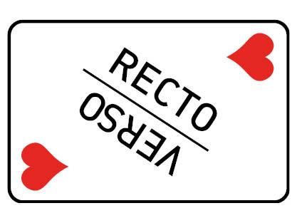 Recto Verso (Cœur)
